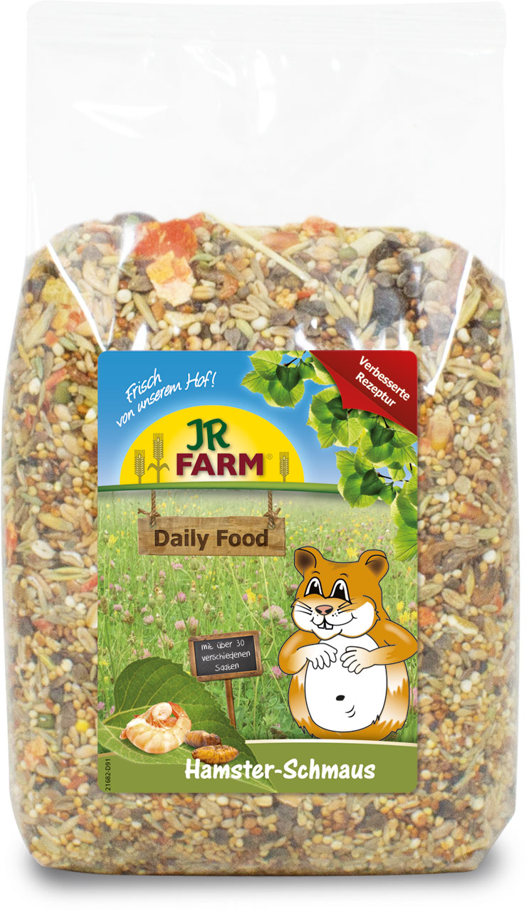 JR Farm Daily Food Hamsteri 600g
